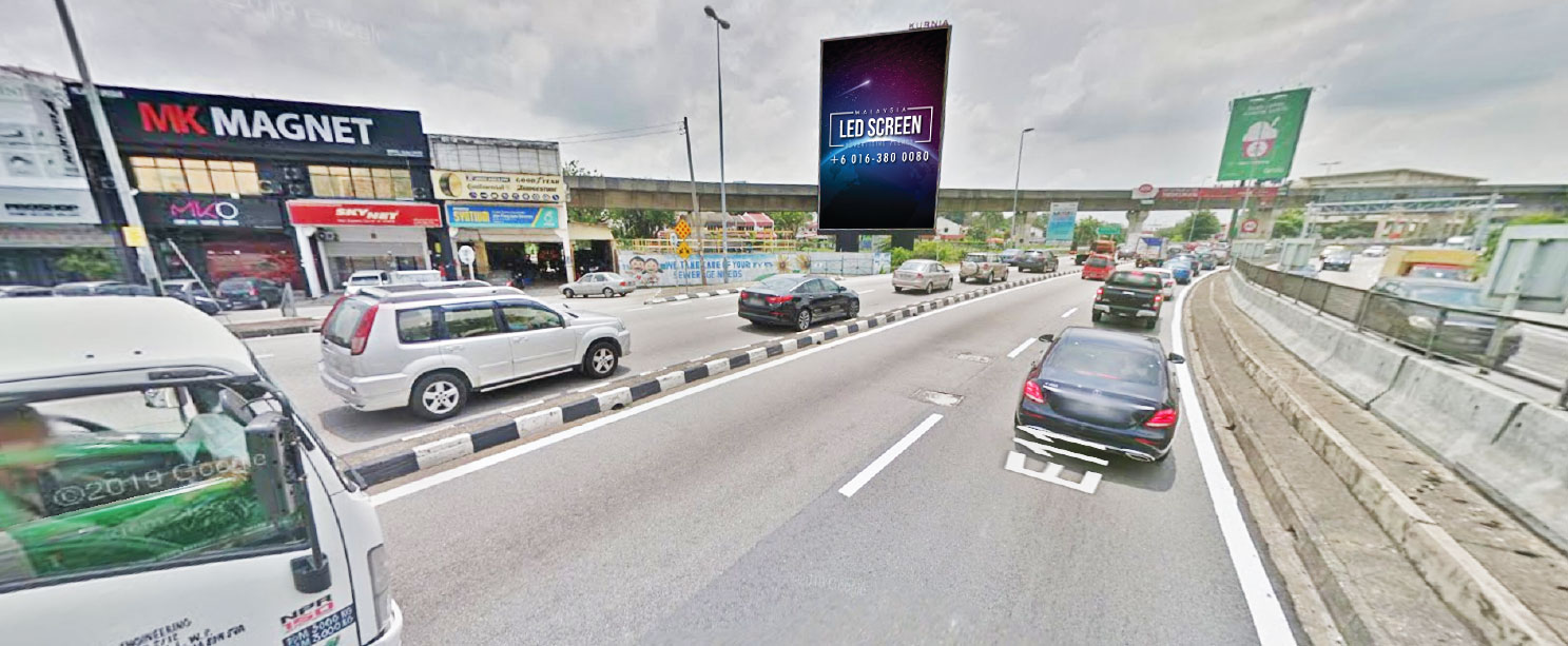 LDP Highway (Toward Damansara) Kelana Jaya LED Screen Advertising Agency, LDP Highway (Toward Damansara) Kelana Jaya Digital Billboard Advertising Agency, LDP Highway (Toward Damansara) Kelana Jaya LED Billboard Advertising Agency, LDP Highway